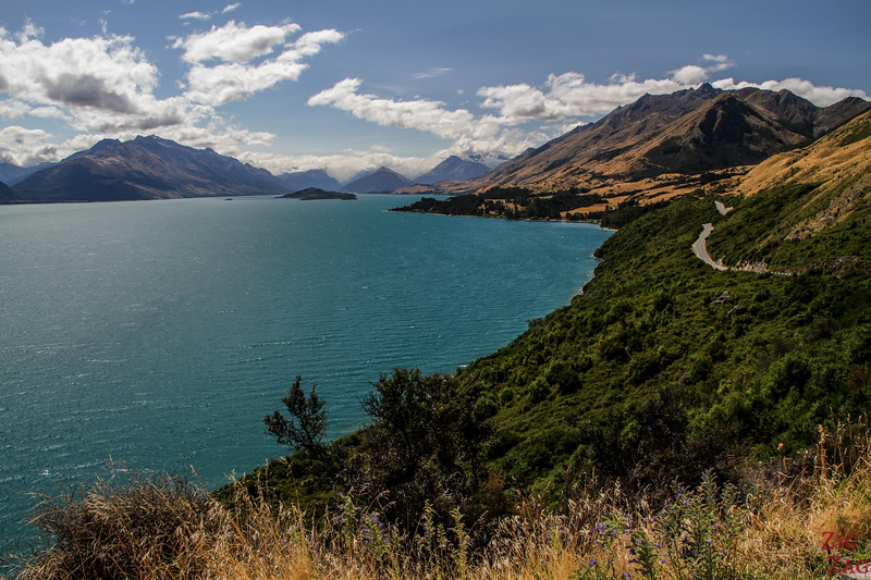 Best New Zealand Landscapes around lakes - Wakatipu