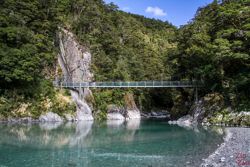 Photos des Haast Pass Blue Pools 7