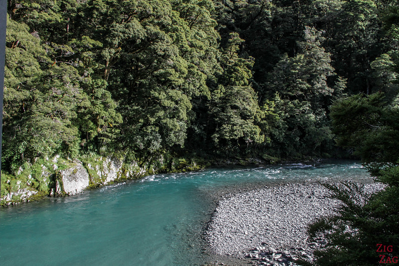 Photos des Haast Pass Blue Pools 1