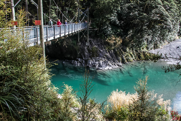 South Island New Zealand Itinerary 10 days - Blue Pools