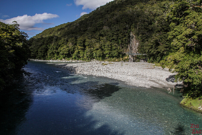 Photos des Haast Pass Blue Pools 2