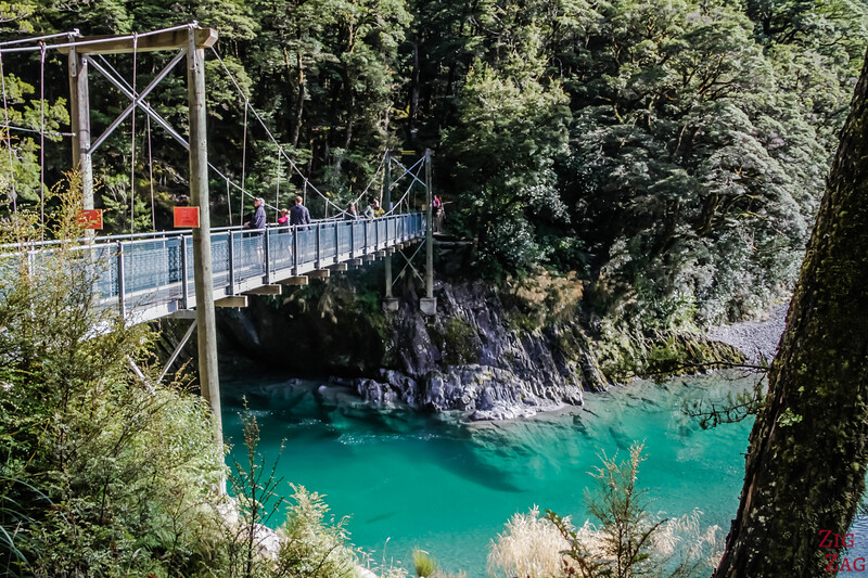 Photos des Haast Pass Blue Pools 3