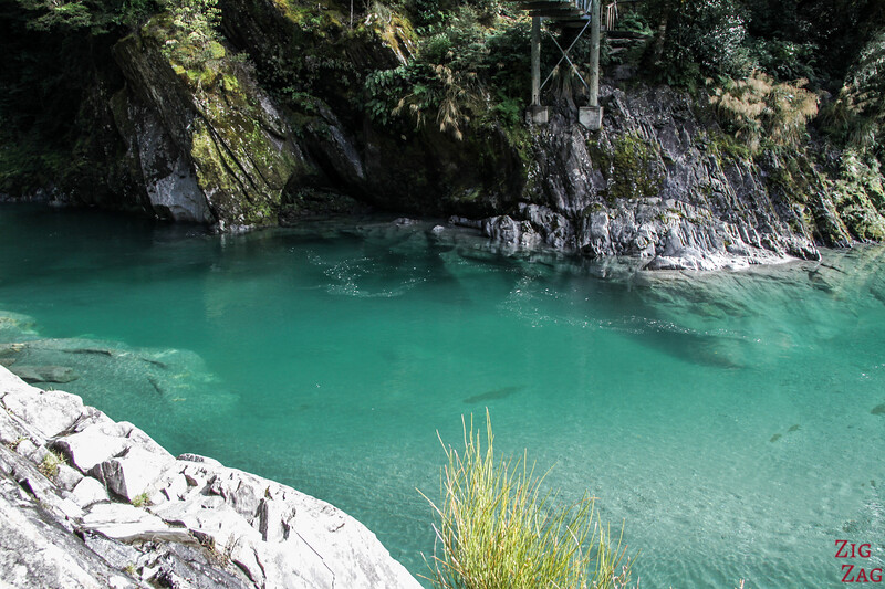 couleur des Blue Pools de Wanaka 2