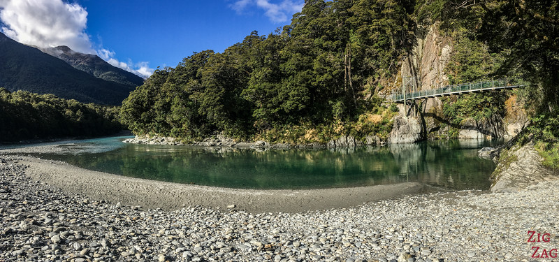 Photos des Haast Pass Blue Pools 6