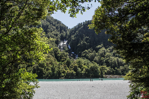 Haast pass road - Roaring Billy