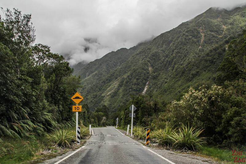 Franz Josef Glacier access road
