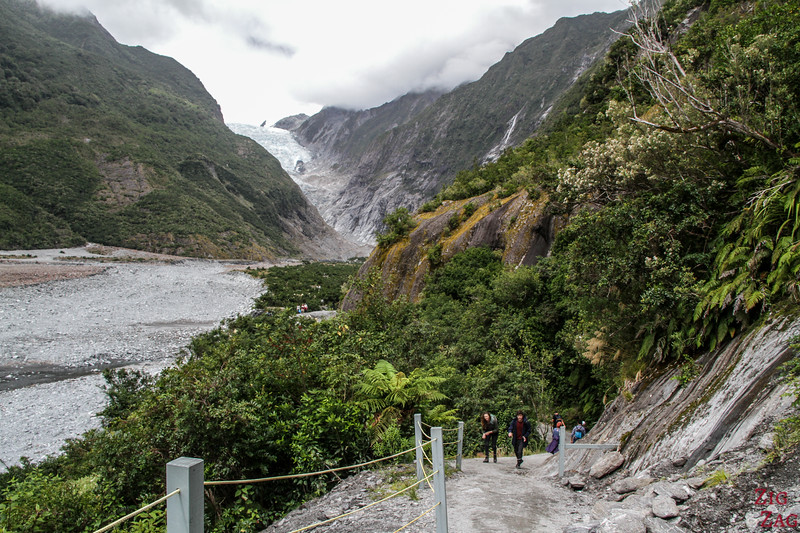 Walk to Franz Josef Glacier New Zealand 2