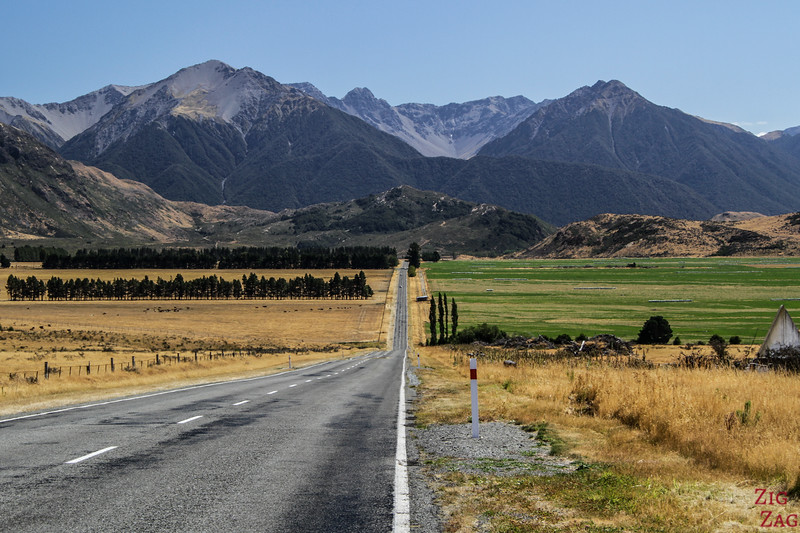 How difficult is driving in New Zealand?