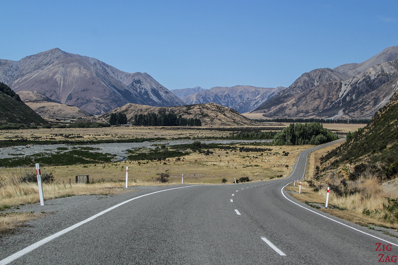 Best drives in the New Zealand mountains - Arthur's pass