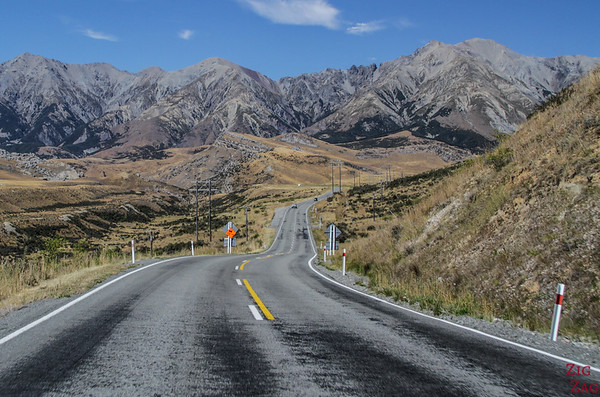 New Zealand North vs South island - Arthur's pass