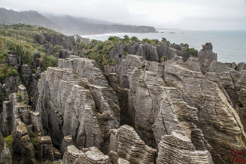 activities in South Island New Zealand - Punakaiki Rocks