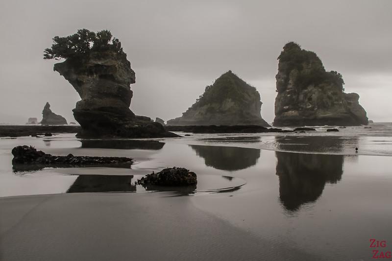 Plus belles plages de Nouvelle-Zélande - Motukiekie 2