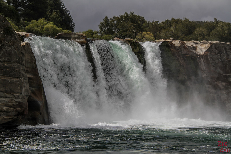 NZ waterfalls - South Island - Maruia falls
