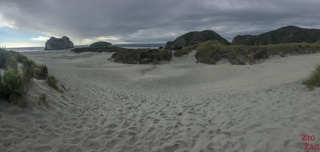 Wharariki sand dunes 1