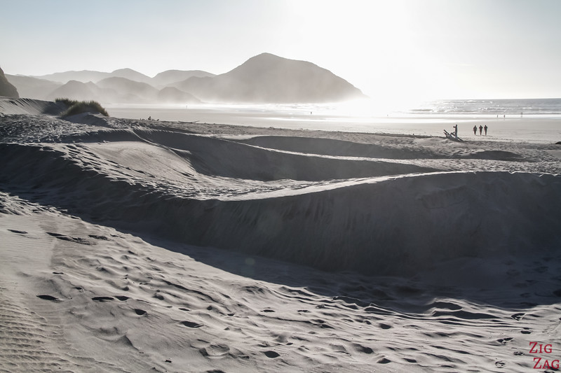 Wharariki sand dunes 2