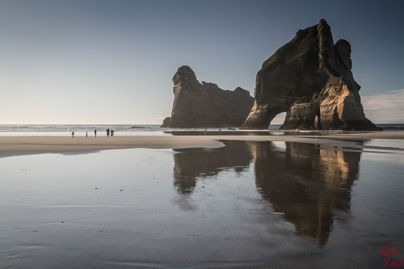 best things to do in New Zealand South Island - Wharariki Beach