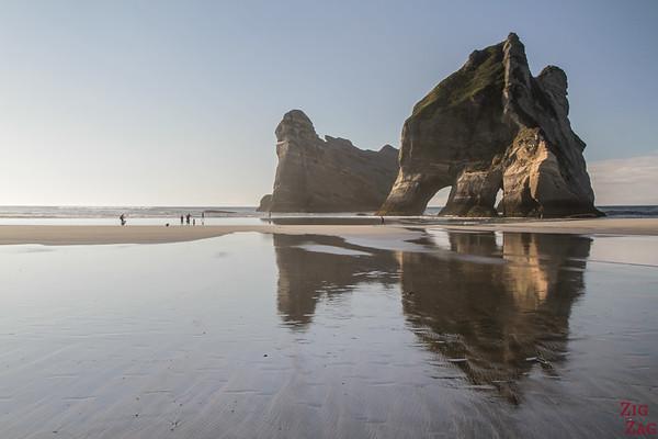 Plus belles plages de Nouvelle-Zélande - île du Nord ou île du Sud ? Wharariki