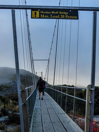 Hooker valley track swing bridge 2