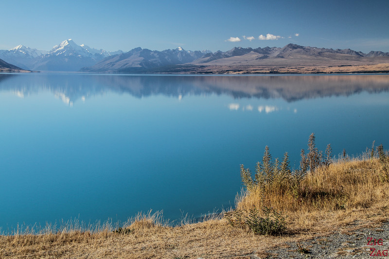 Puakaki - Blue Lake in New Zealand