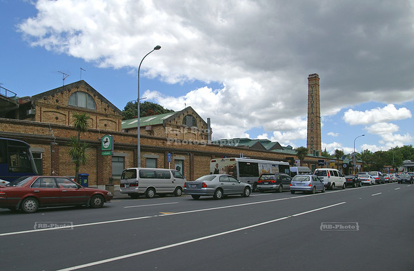 Historic Victoria Park Market, Auckland, New Zealand