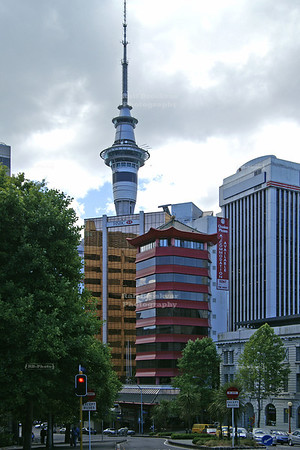 View at Sky-Tower, Auckland, New Zealand