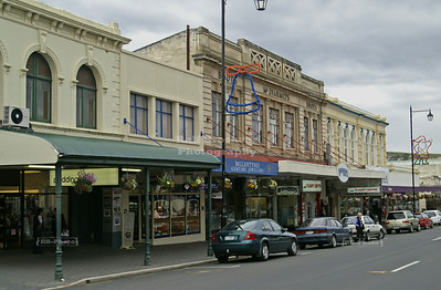 Thames Street, Oamaru, Otago, South Island, New Zealand