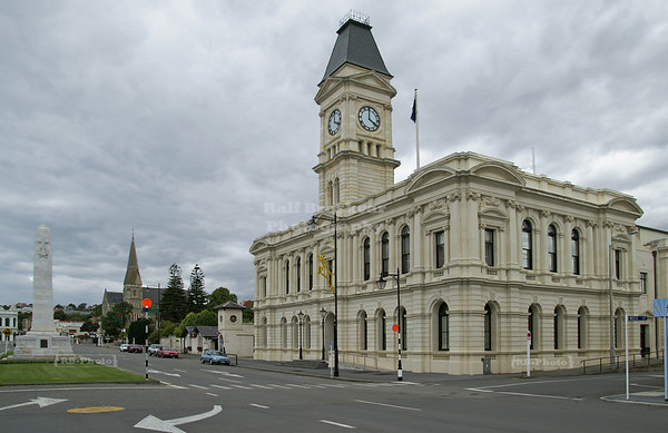 The former Post Office, Oamaru, Otago, South Island, New Zealand