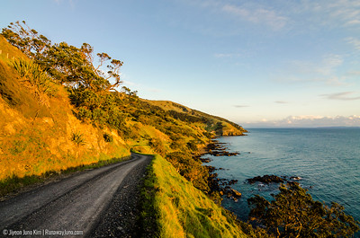 Sunset on Coromandel Peninsula