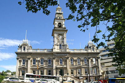 Dunedin Town Hall, Otago, South Island, New Zealand