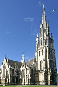 First (Presbyterian) Church in Dunedin, Otago, South Island, New Zealand