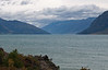 Lake Hawea.<br /> ...at least it wasn't raining.