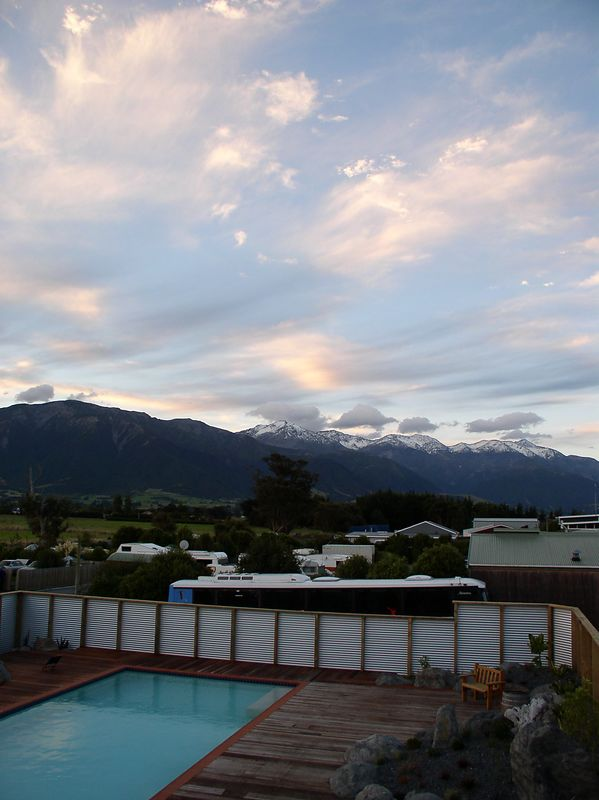 View from the backpackers (Dusky Lodge)