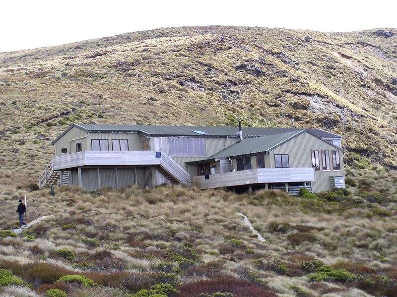The first Hut - Luxmore hut