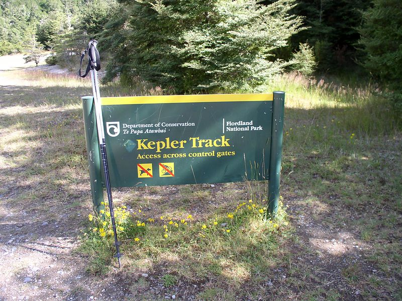 Begining of the Kepler track