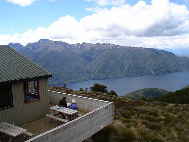 Sights from Luxmore Hut
