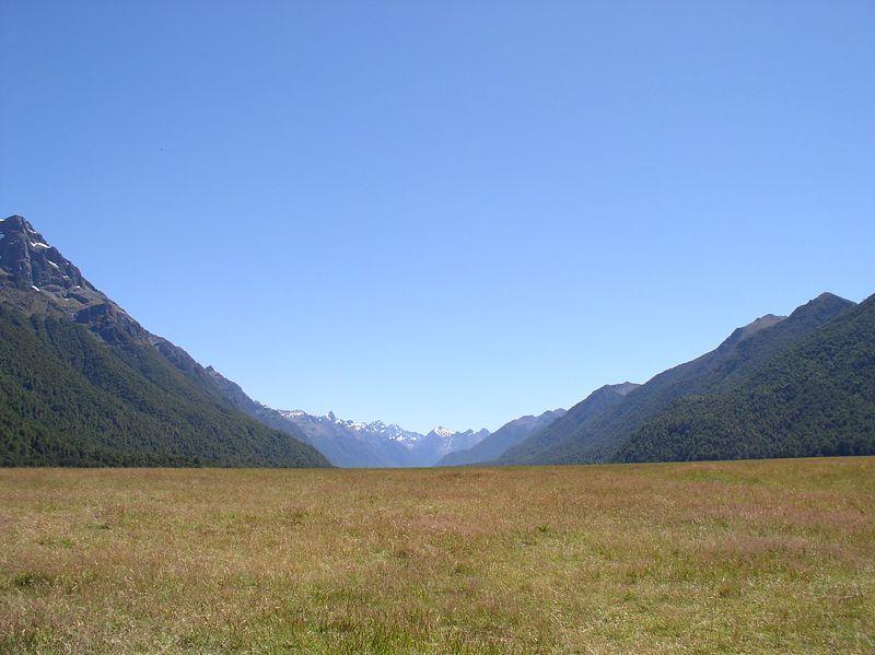 On the way to Milford Sounds