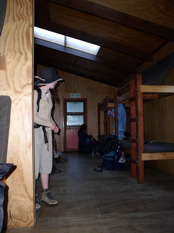 The bunk rooms