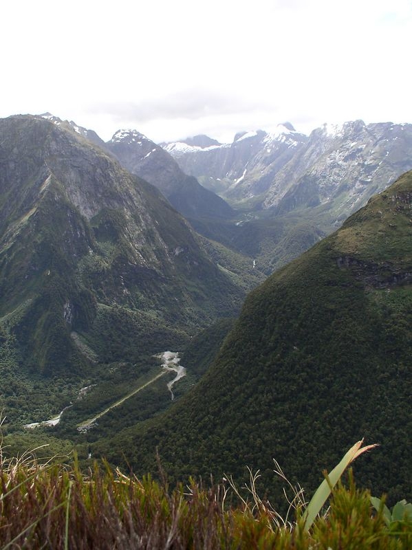 A view from the pass (Mackinnon pass)