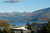 View from the Wanaka B&B we stayed in.