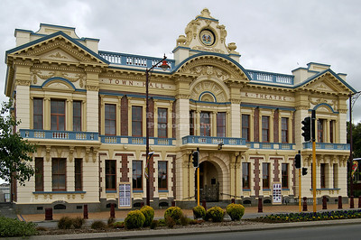 Town Hall and Civic Theatre, Invercargill, Southland, South Island, New Zealand