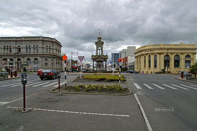 Troopers' Memorial (Boer War), Intersection of Tay Street and Dee Street, Invercargill, South Island, New Zealand