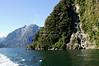 Boat trip through Milford Sound