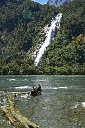 Lady Bowen Falls at Milford Sound