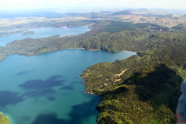 View from the floatplane Rotorua, New Zealand photo 2