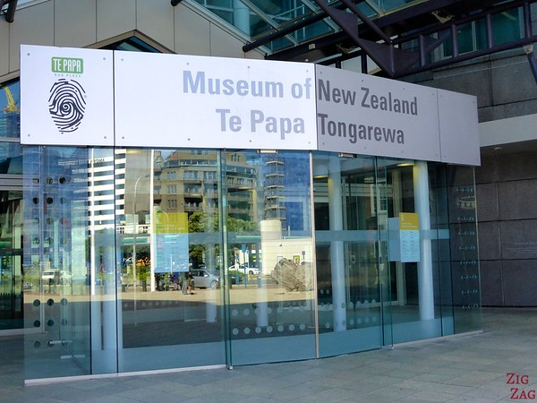 Te Pappa Museum, Wellington, New Zealand - Entrance