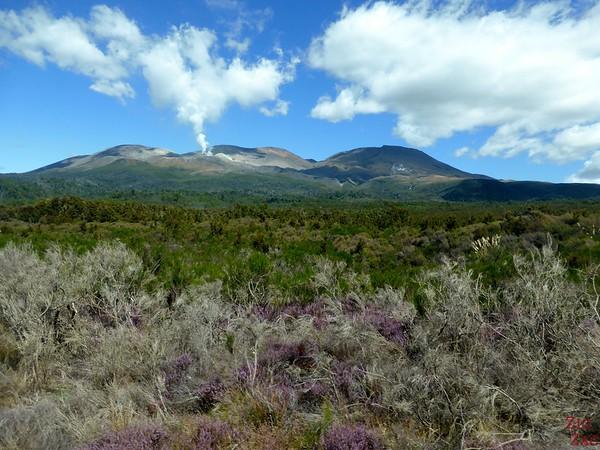 Volcanic activity at Tongariro New Zealand photo 1