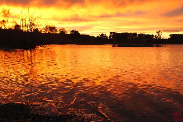 Sunrise lake New Zeland 2