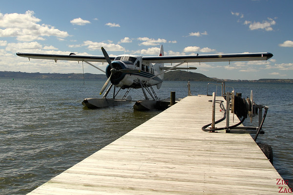 Otter floatplane Rotorua, New Zealand photo 2