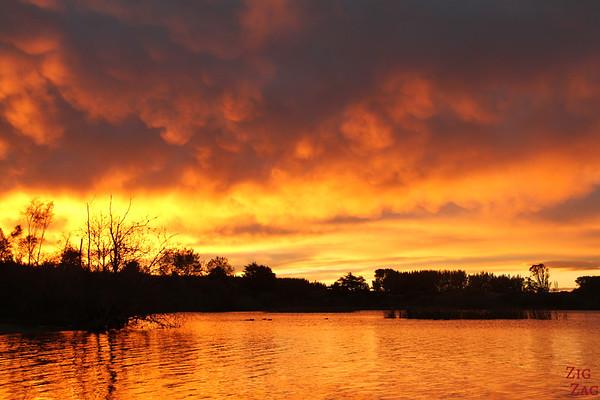 Sunrise lake New Zeland 3