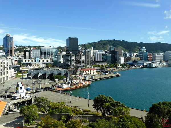 Te Pappa Museum, Wellington, New Zealand - View from roof